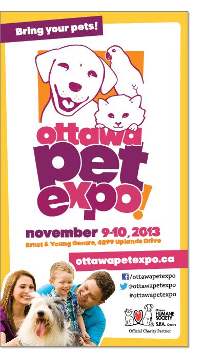 Ottawa Pet Expo Poster Design.  Pet Poster